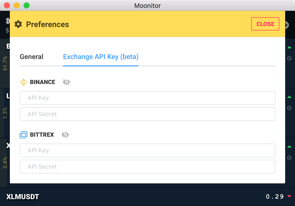 moonitor-0.5.0-api-key-binance-bittrex.png