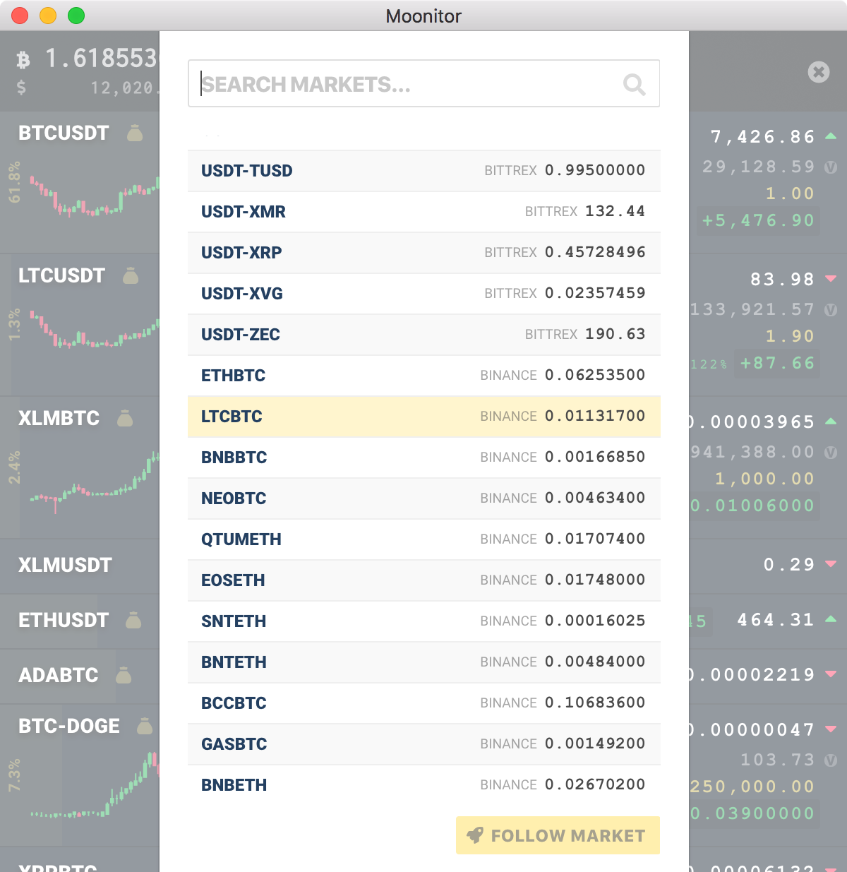 moonitor-0.5.0-bitcoin-altcoins-markets.png